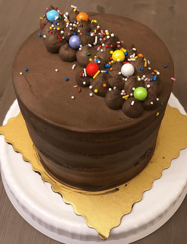 Charming Sprinkles Cake