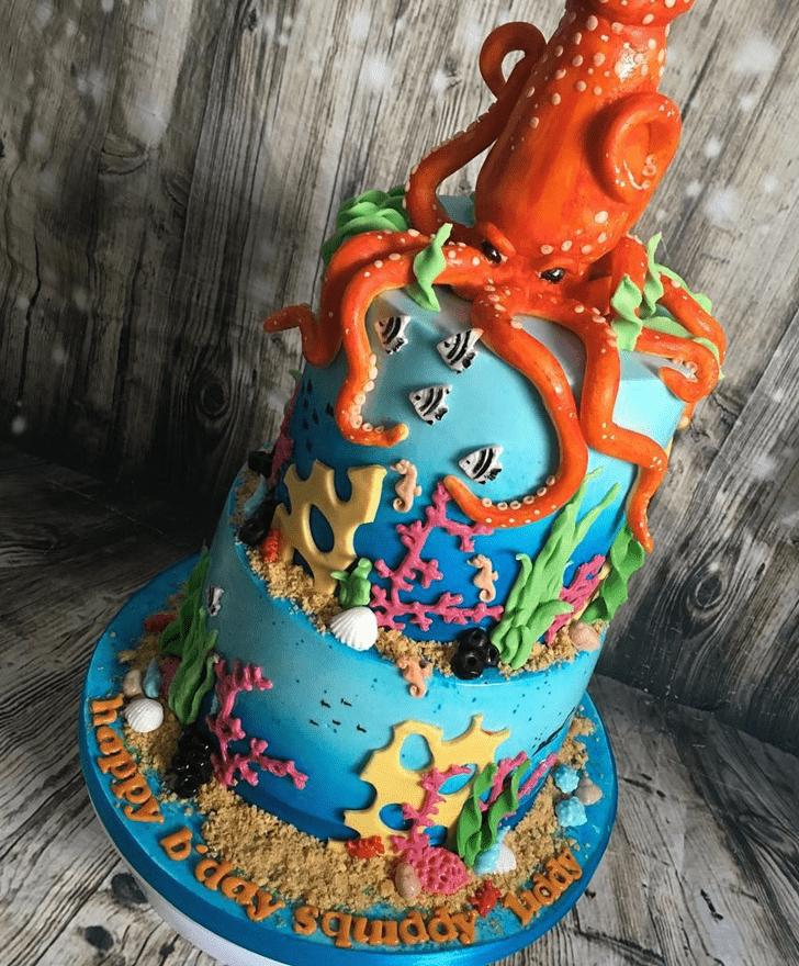 Beauteous Squid Cake