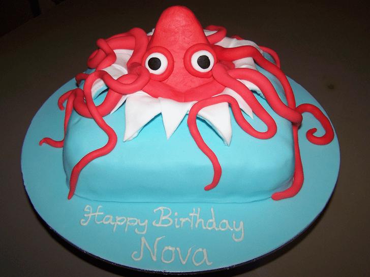 Enticing Squid Cake