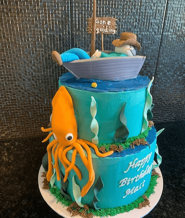 Exquisite Squid Cake
