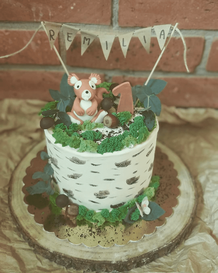 Alluring Squirrel Cake