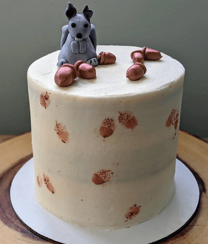 Appealing Squirrel Cake