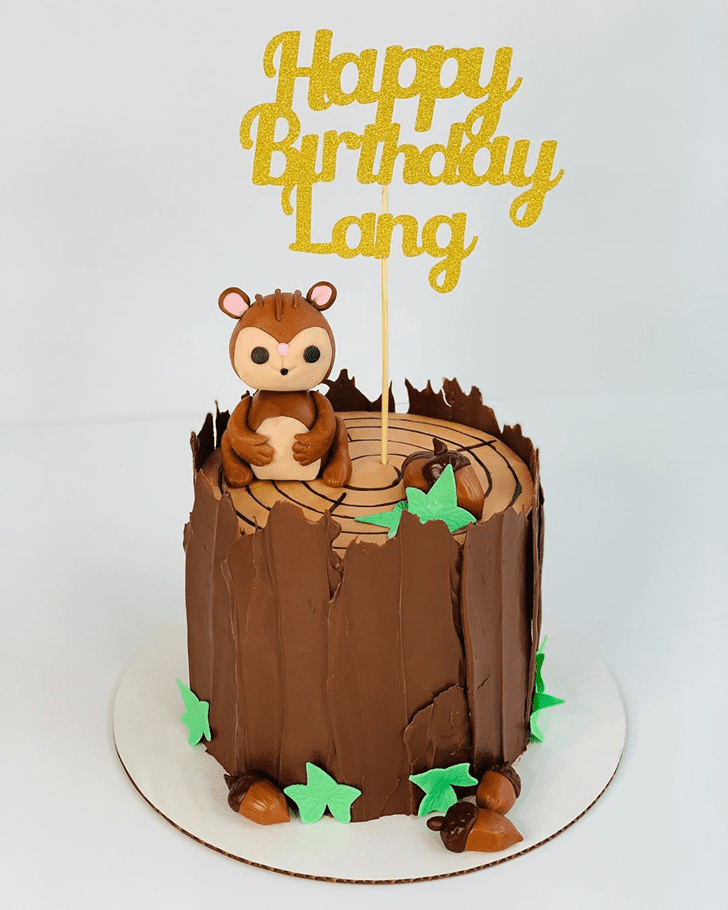 Charming Squirrel Cake
