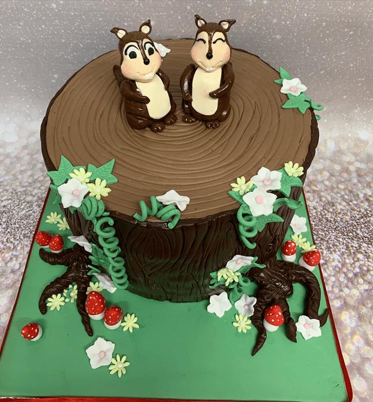 Cute Squirrel Cake