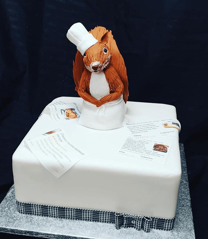 Dazzling Squirrel Cake