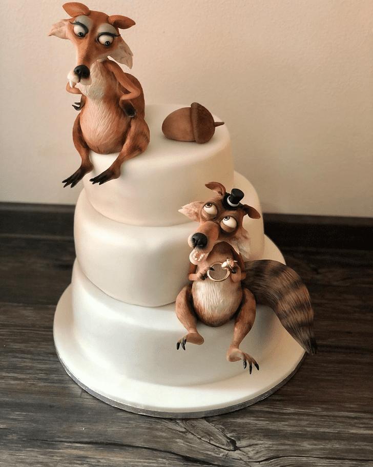 Divine Squirrel Cake