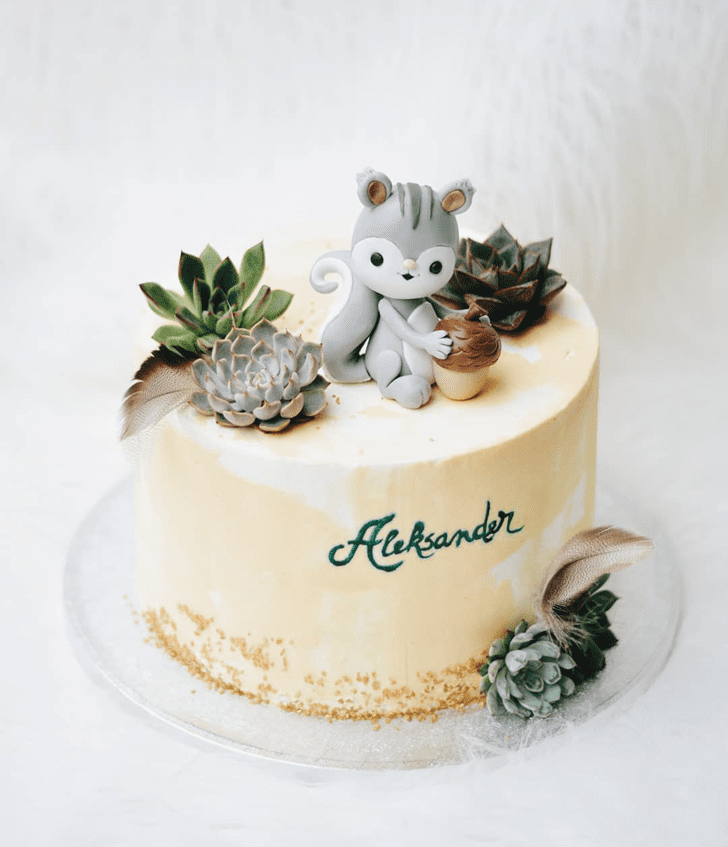 Enthralling Squirrel Cake