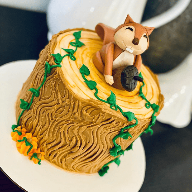 ExquisSquirrele Squirrel Cake