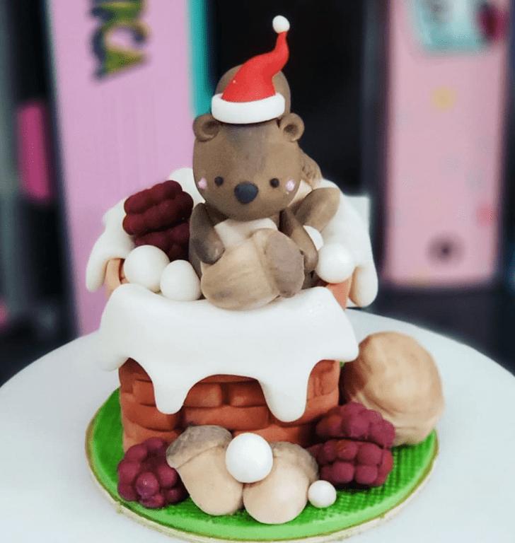 Fair Squirrel Cake