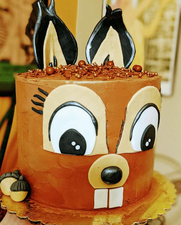 Fetching Squirrel Cake