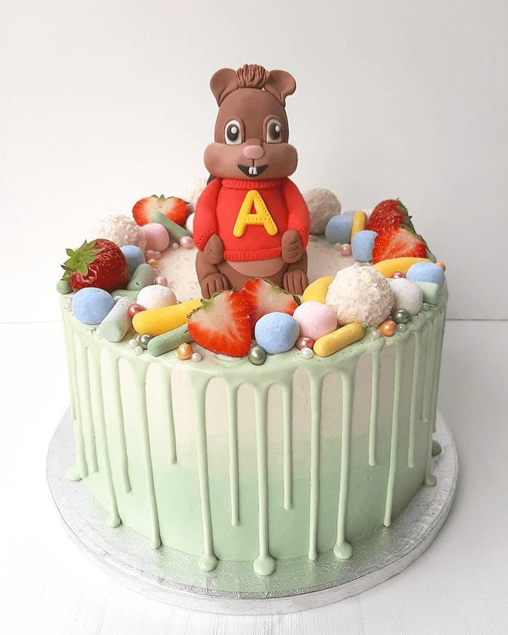 Gorgeous Squirrel Cake