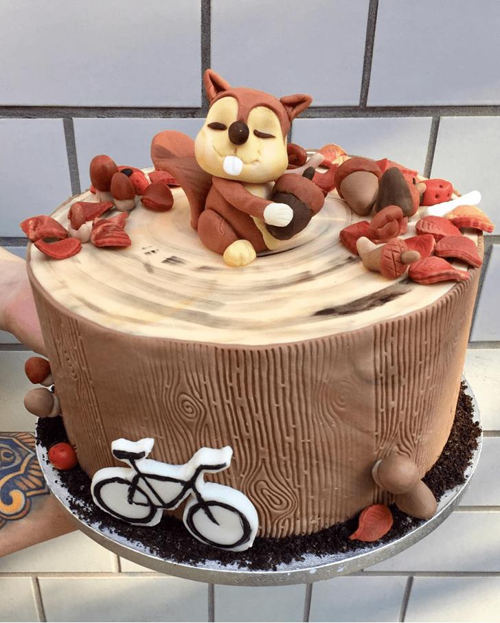 Inviting Squirrel Cake