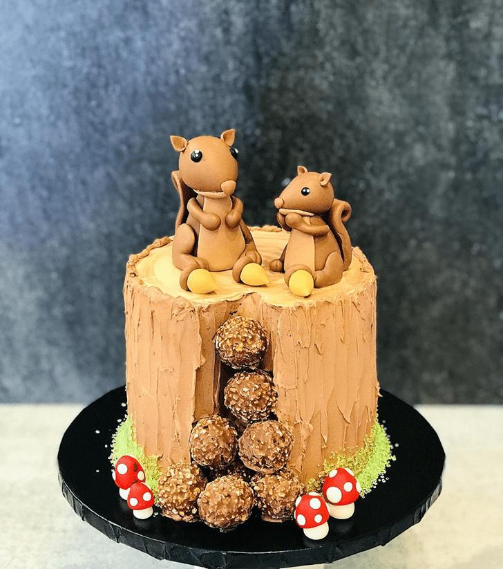 Mesmeric Squirrel Cake