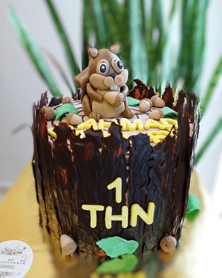 Nice Squirrel Cake