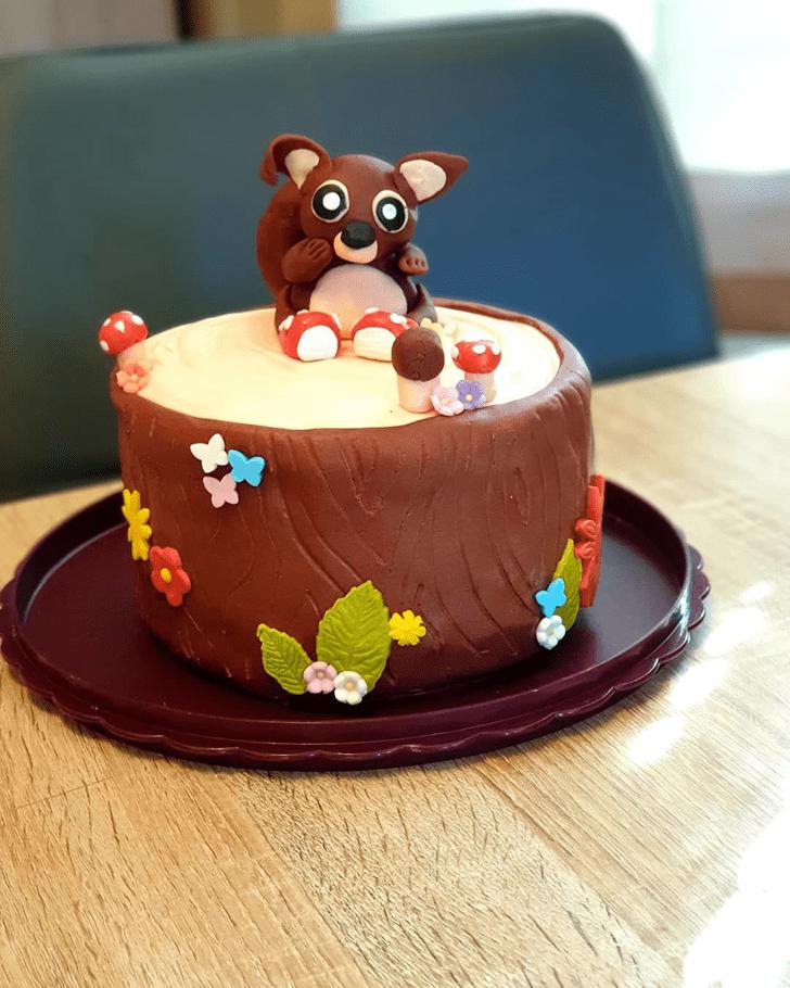 Pleasing Squirrel Cake