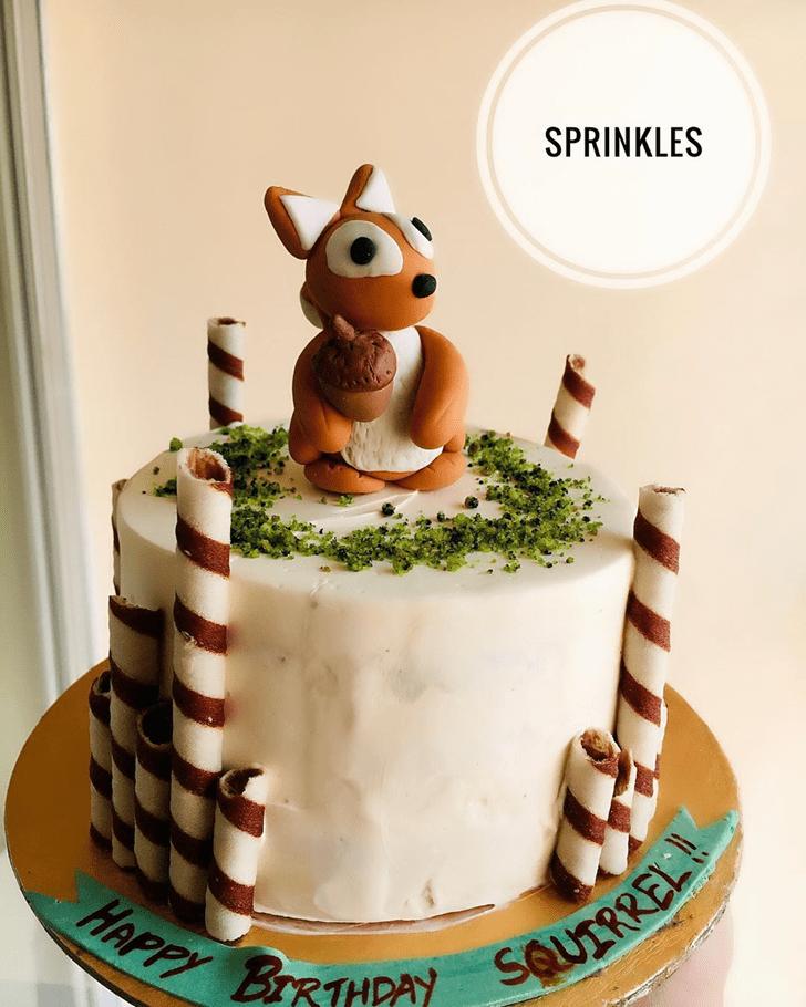 Radiant Squirrel Cake