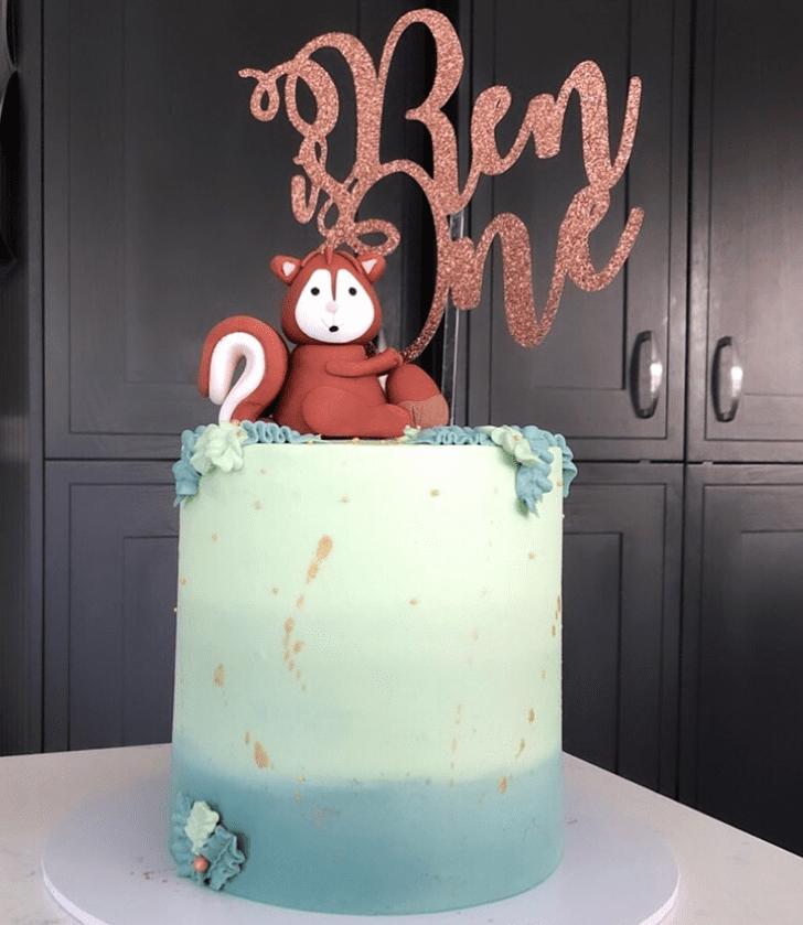 Slightly Squirrel Cake