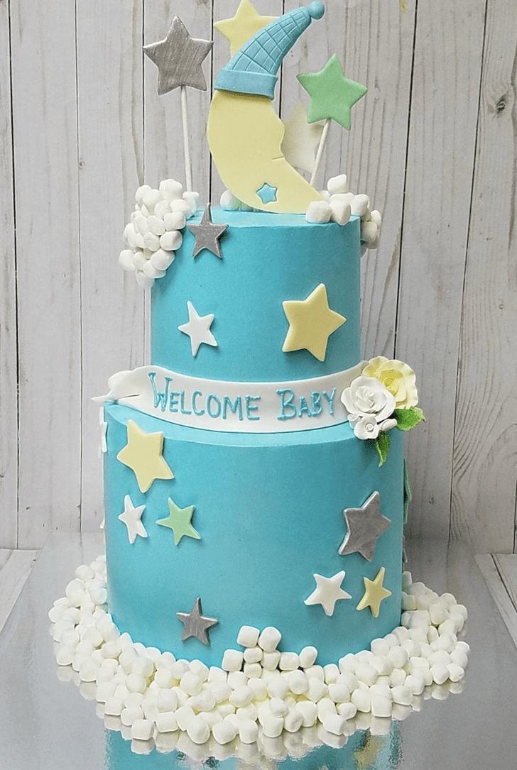 Appealing Star Cake