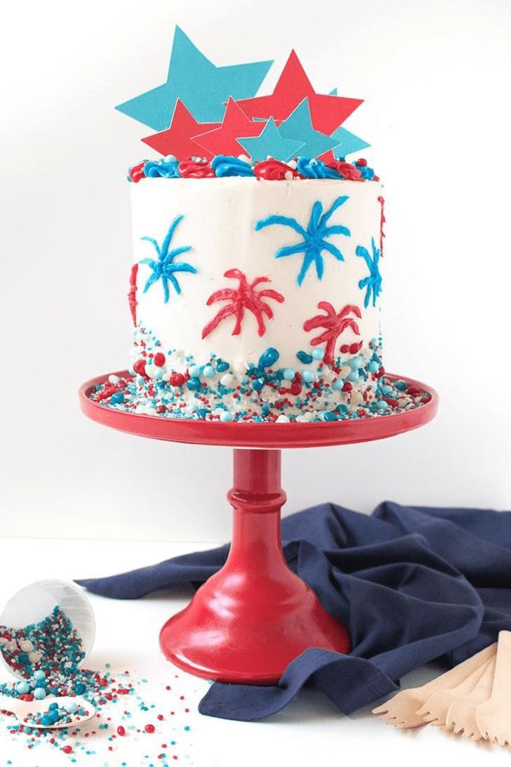 Beauteous Star Cake