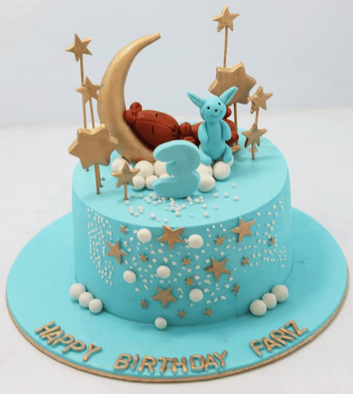 Bewitching Star Cake