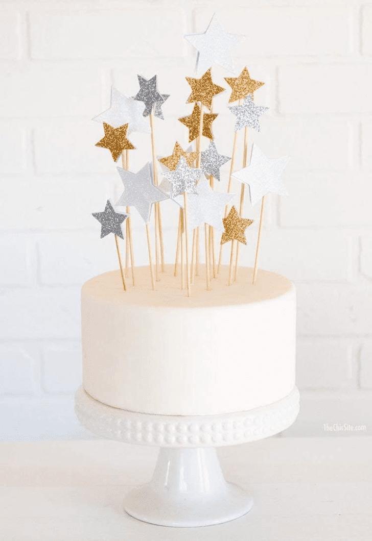 Captivating Star Cake