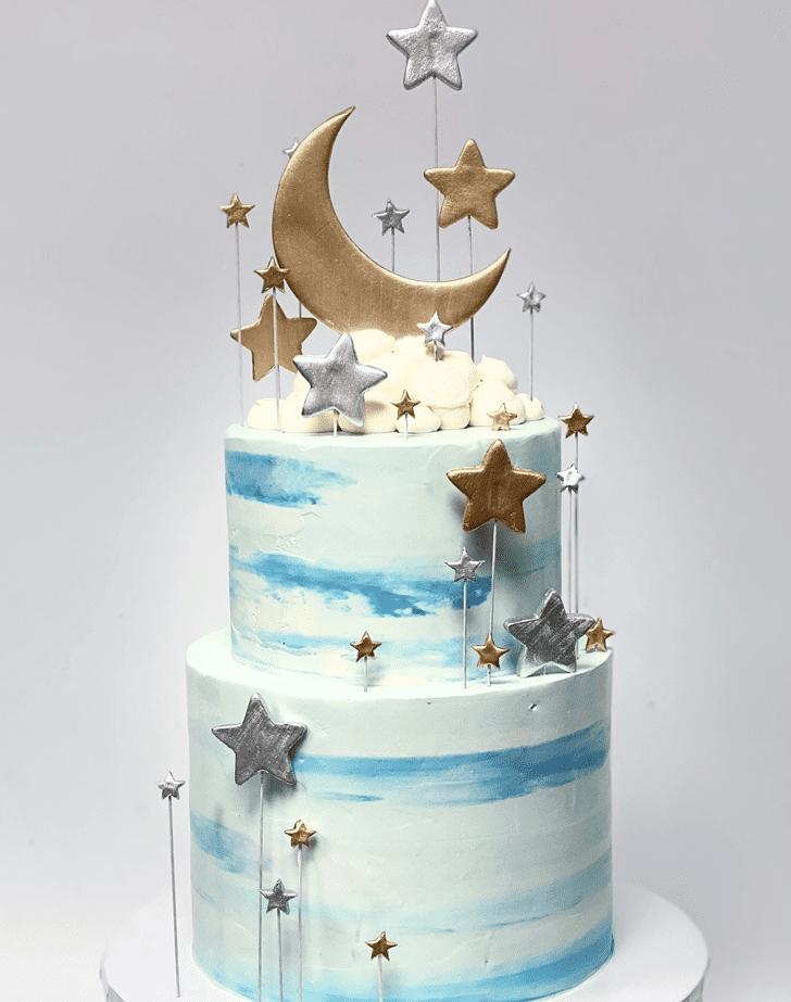 Charming Star Cake