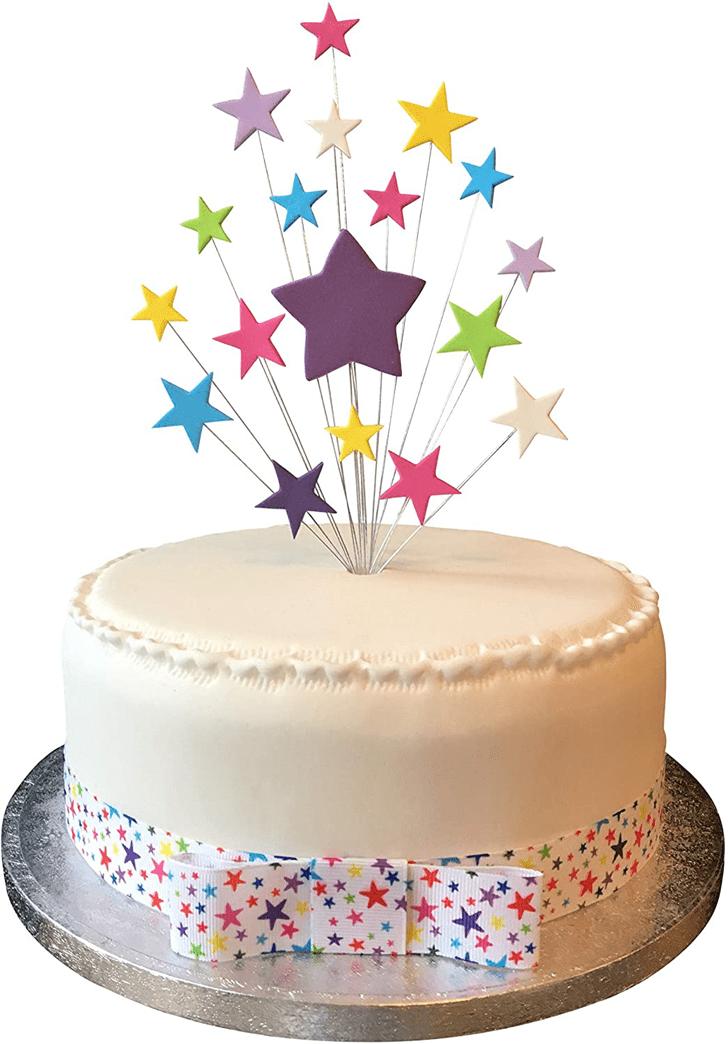 Delicate Star Cake