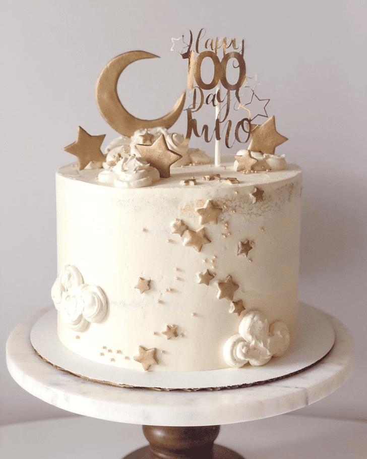 Elegant Star Cake