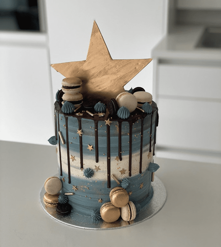 Enthralling Star Cake