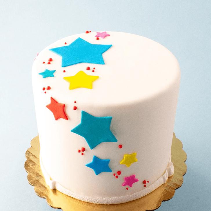 Excellent Star Cake