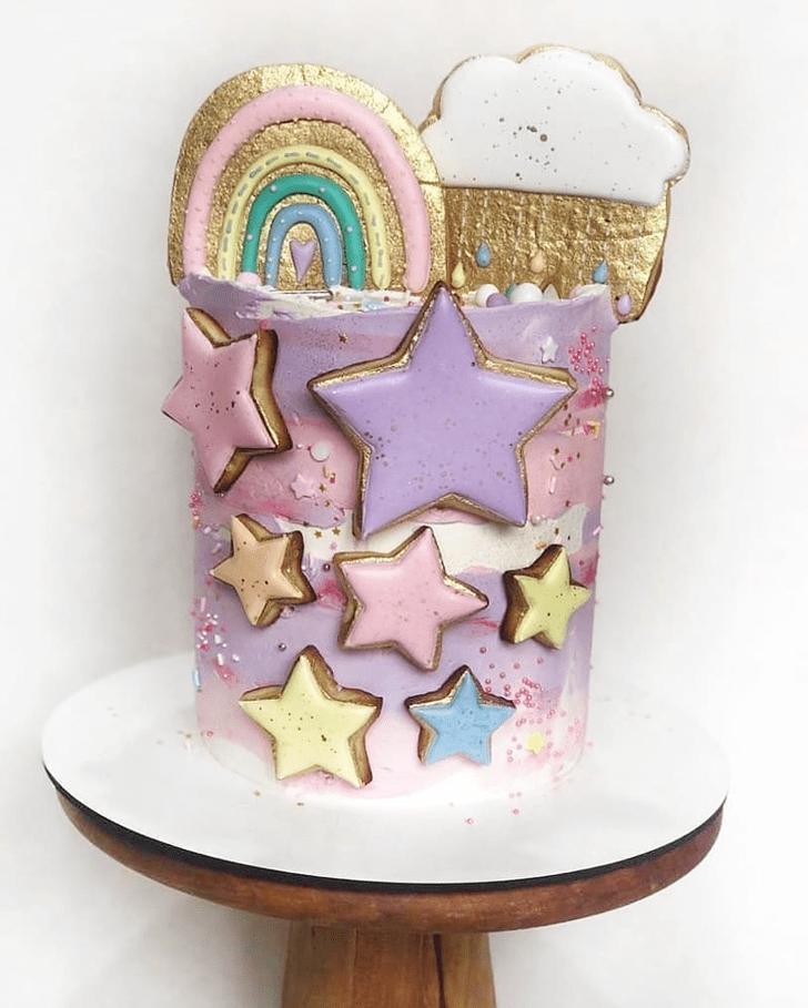 Fair Star Cake