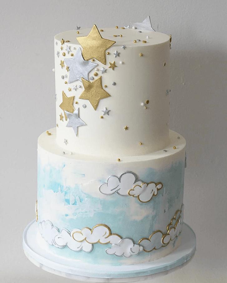 Graceful Star Cake
