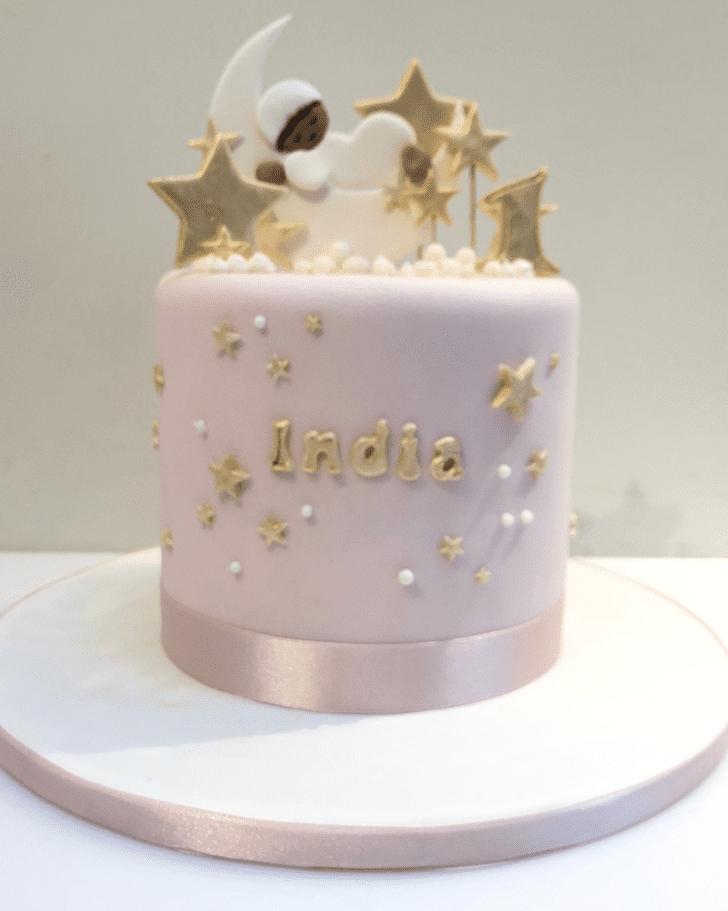 Lovely Star Cake Design