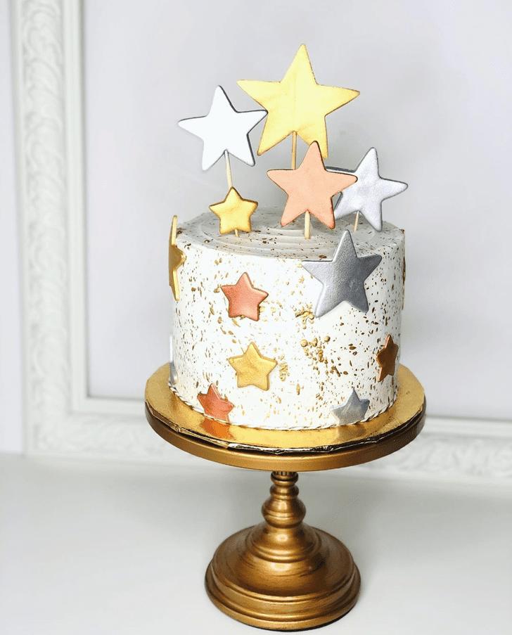 Magnificent Star Cake