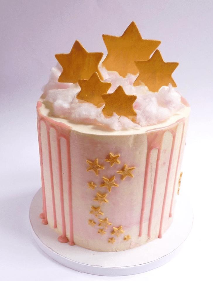 Mesmeric Star Cake