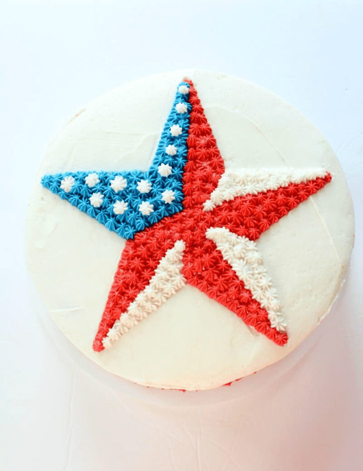 Pretty Star Cake