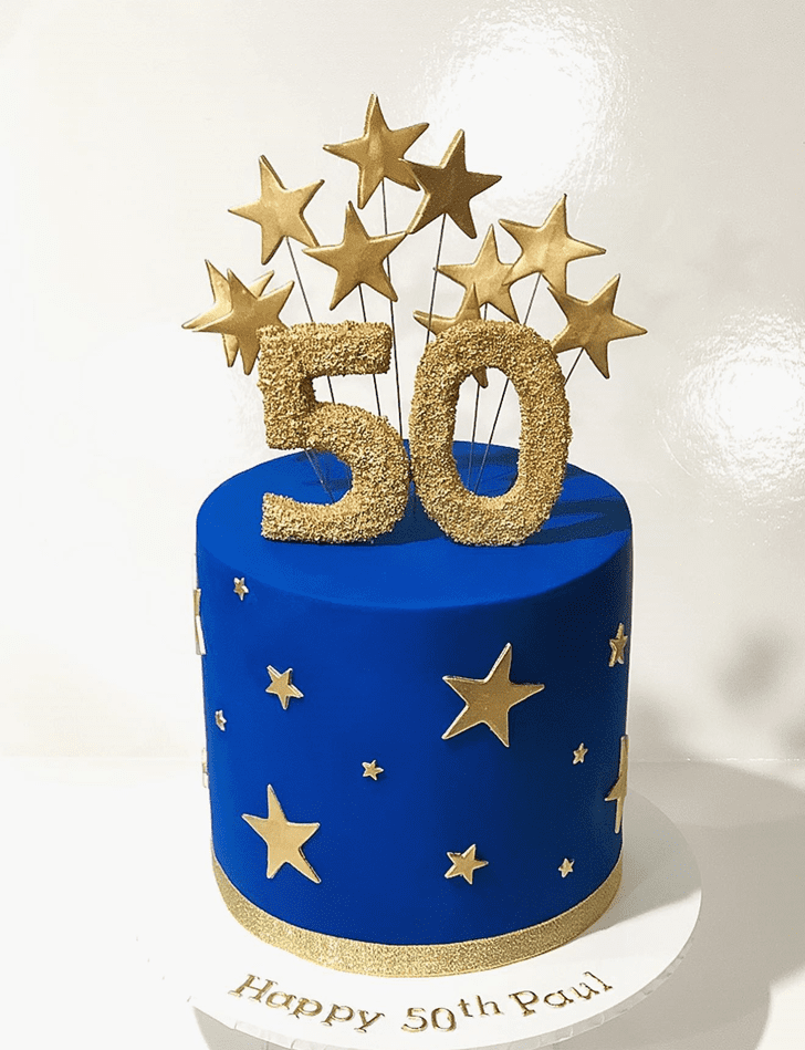 Refined Star Cake