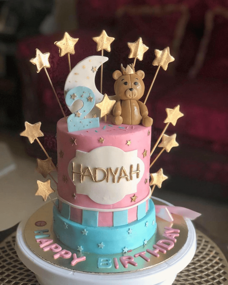 Wonderful Star Cake Design