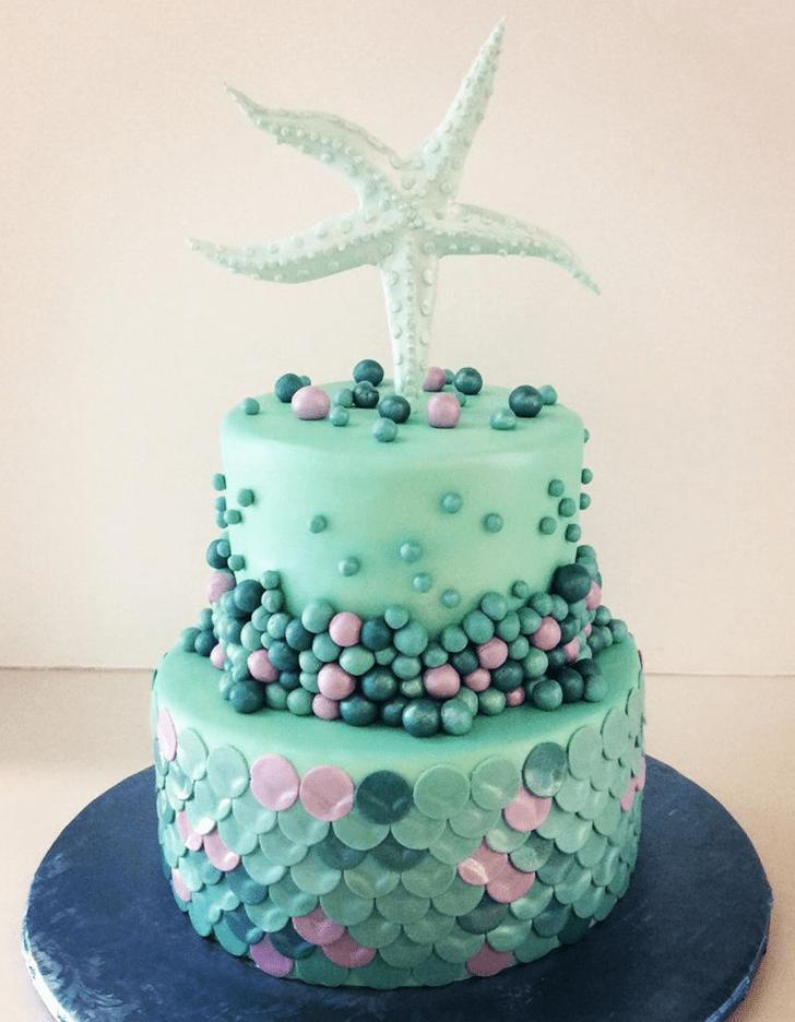 Adorable Starfish Cake