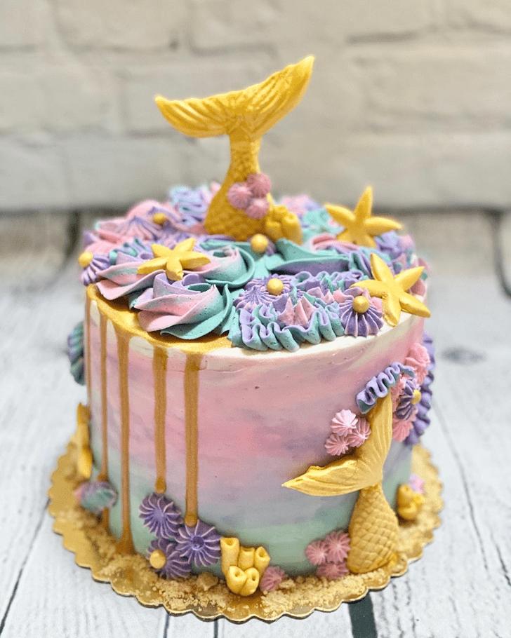 Bewitching Starfish Cake