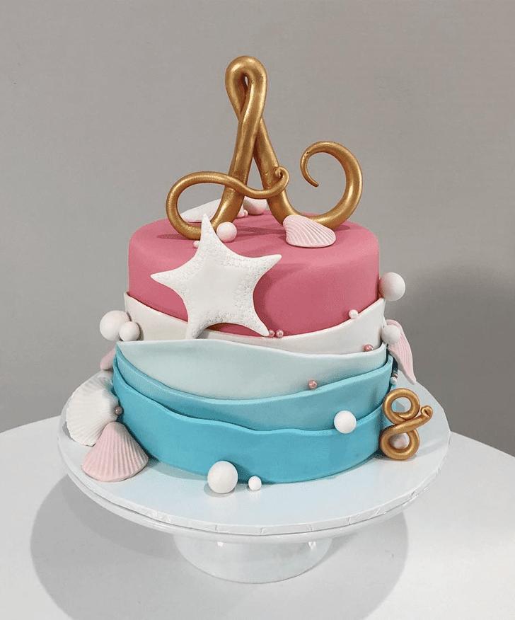 Cute Starfish Cake