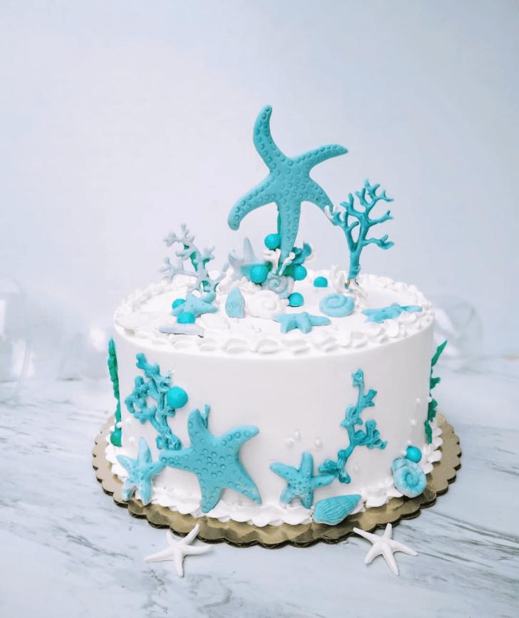 Delightful Starfish Cake