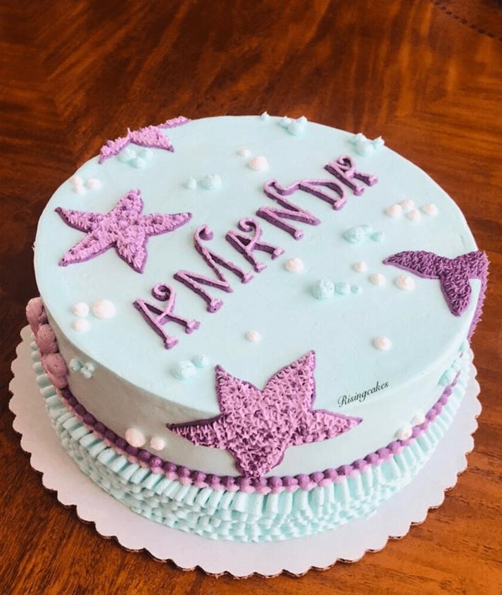Ideal Starfish Cake