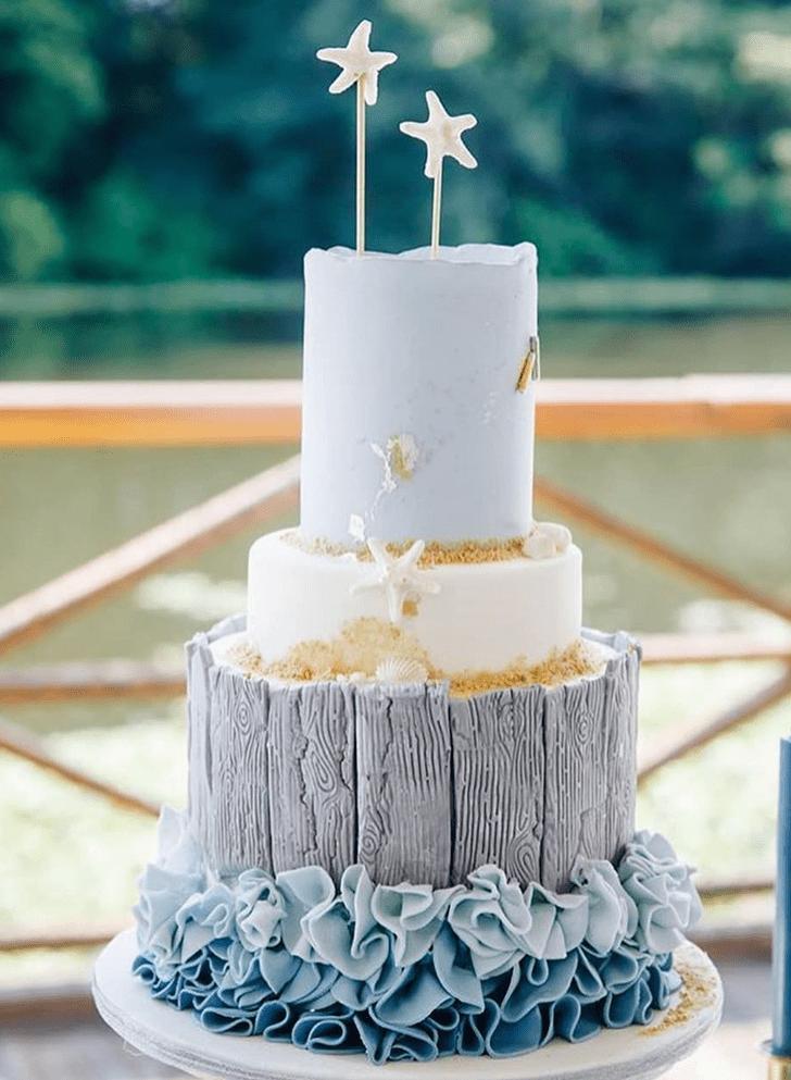 Nice Starfish Cake