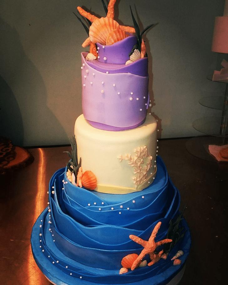 Slightly Starfish Cake
