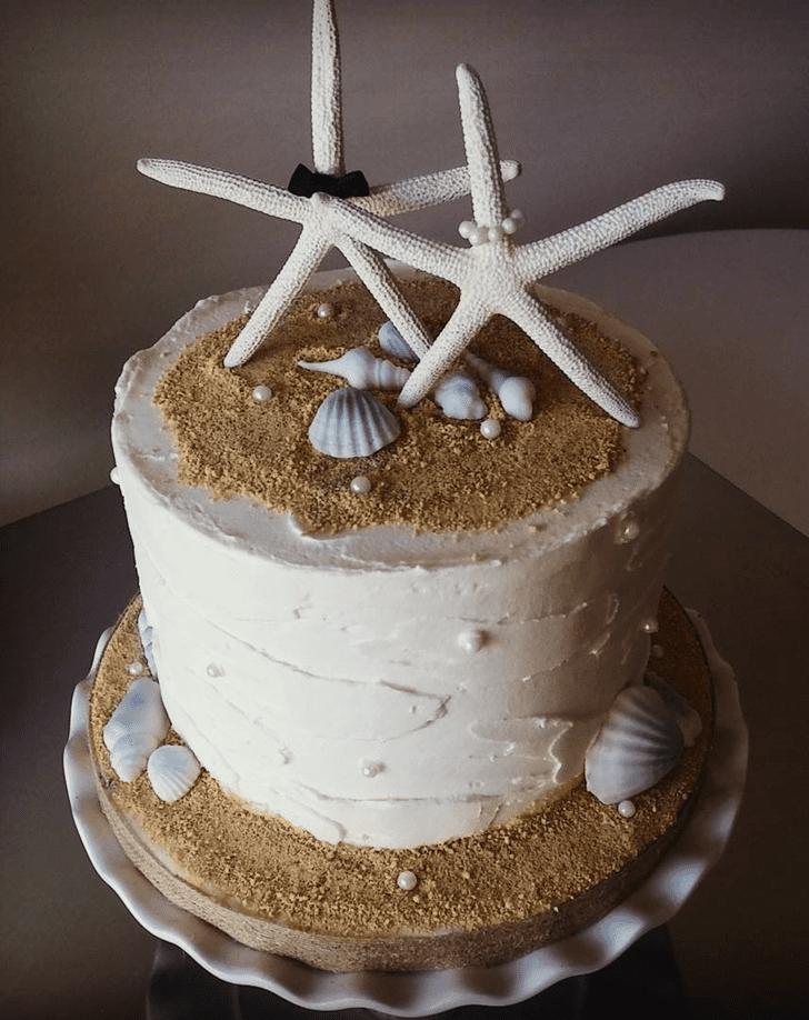 Superb Starfish Cake