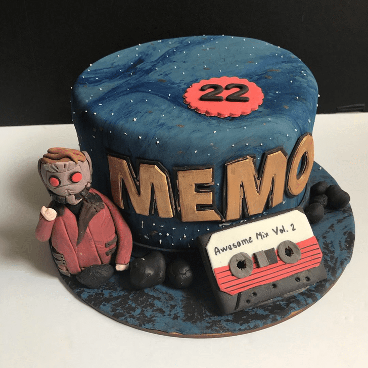 Admirable Star Lord Cake Design
