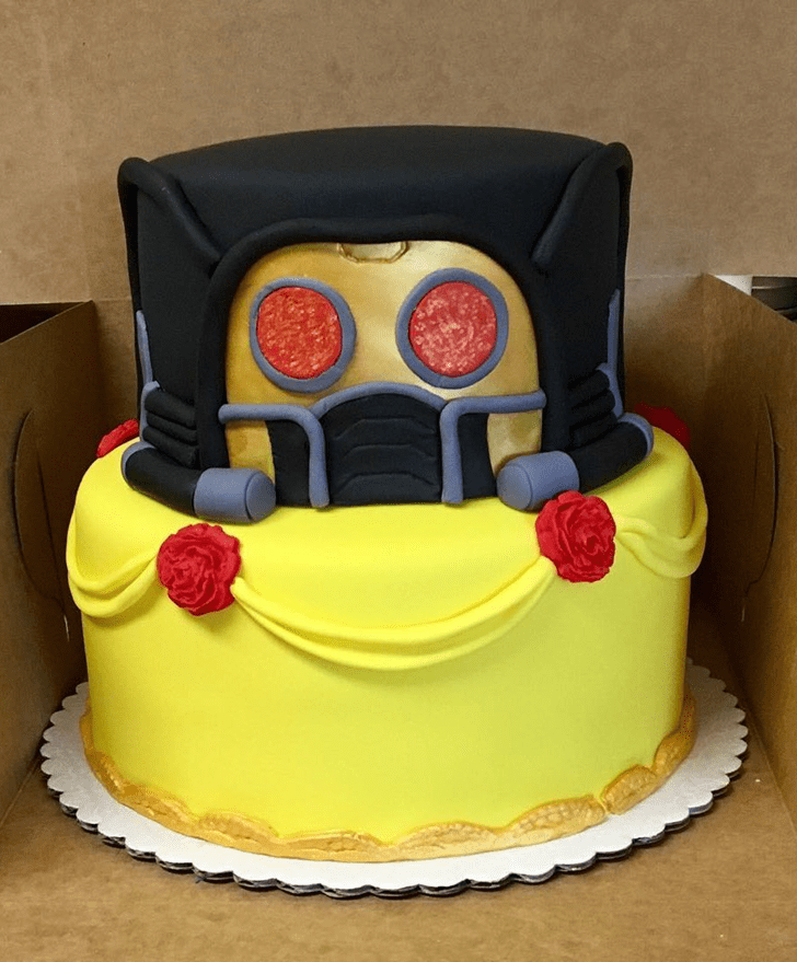 Beauteous Star Lord Cake