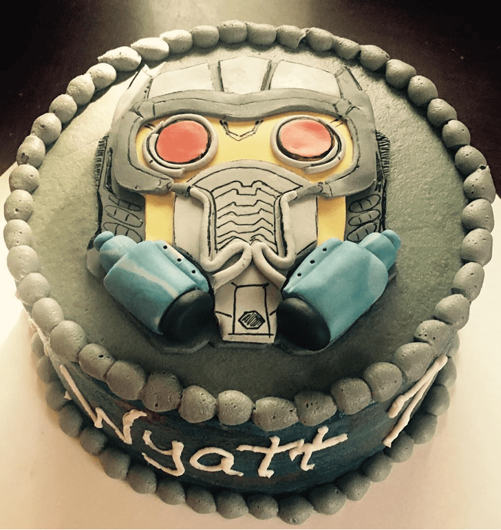 Bewitching Star Lord Cake
