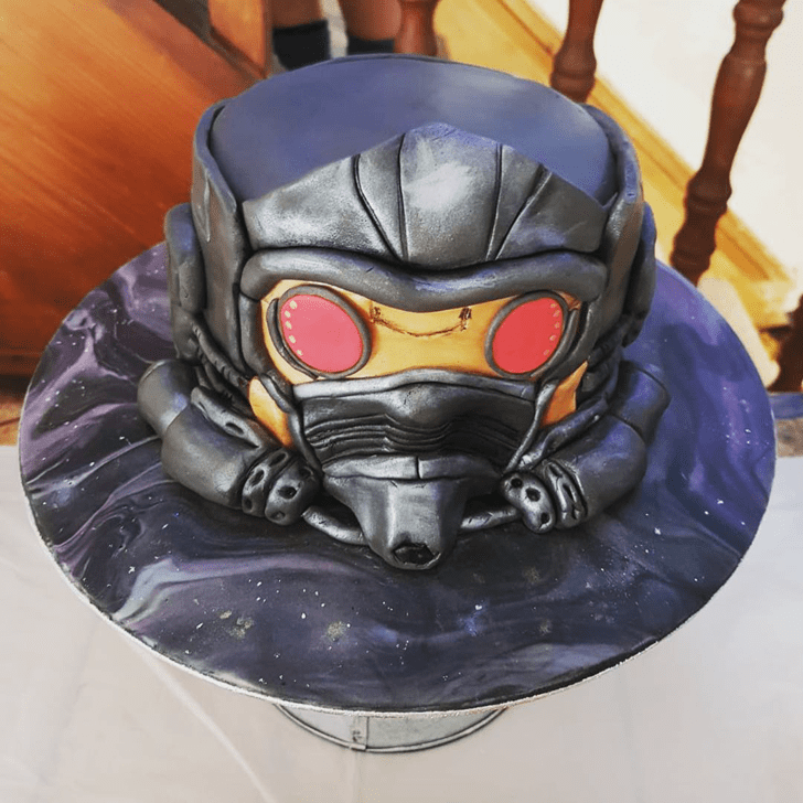 Charming Star Lord Cake